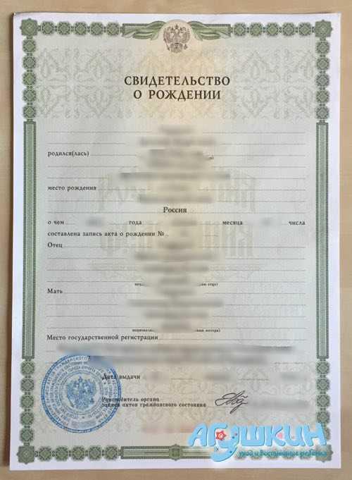 Какие документы оформлять при рождении ребенка: список документов для новорожденного