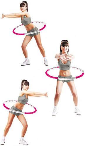 Обруч для похудения: как правильно проводить занятия