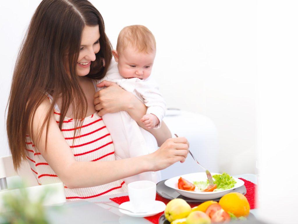 Как похудеть кормящих женщины