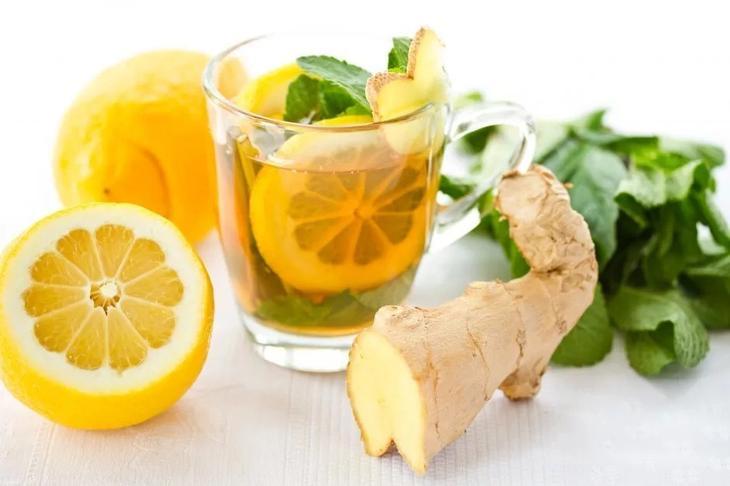 Имбирь с лимоном помогают похудеть