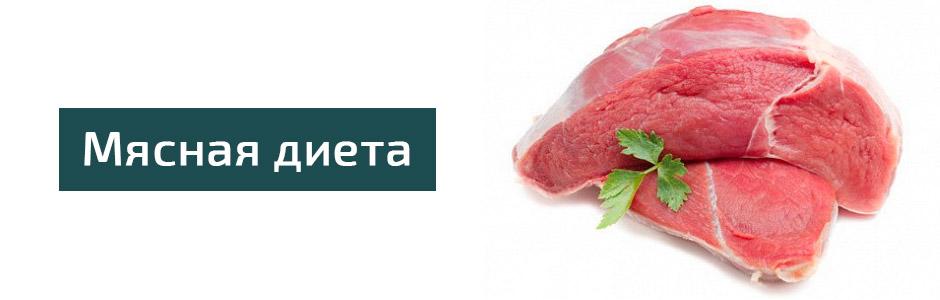 Диета мясная день