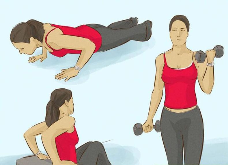 Как Похудеть В Области Рук. Что делать, чтобы похудели руки